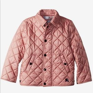 Burberry Mini Lyle Kids Quilted Coat